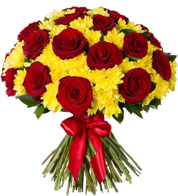 Букет цветов на 45 лет